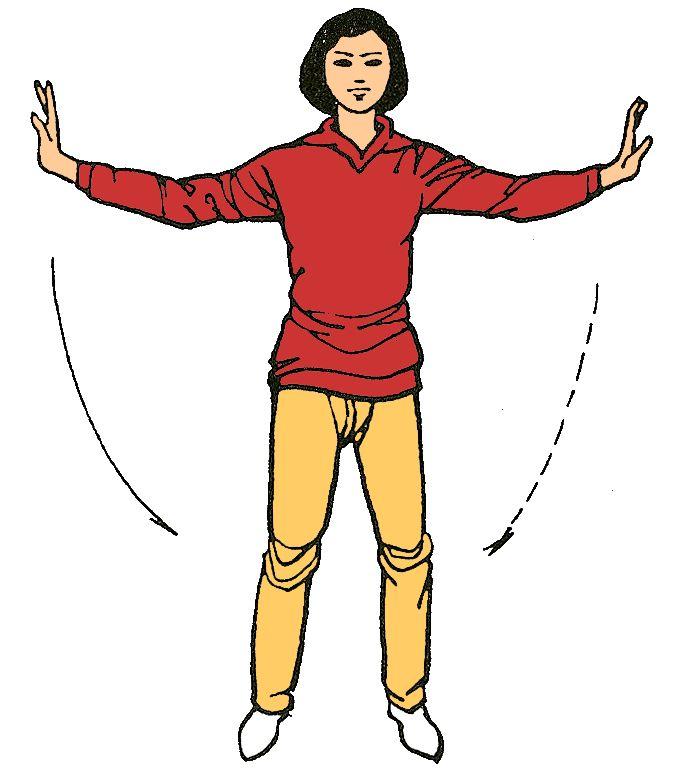 4. Separar las nubes ( recoge la energia de la tierra )  Estimula los riñones, activa el corazón y los pulmones Fortalece la salud física y equilibra la emocional