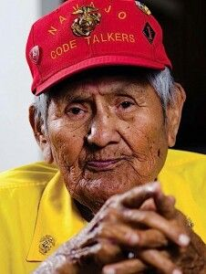 One of the original 29 Navajo Code Talkers, Chester Nez passed away 6-4-2014 at the age of 93.