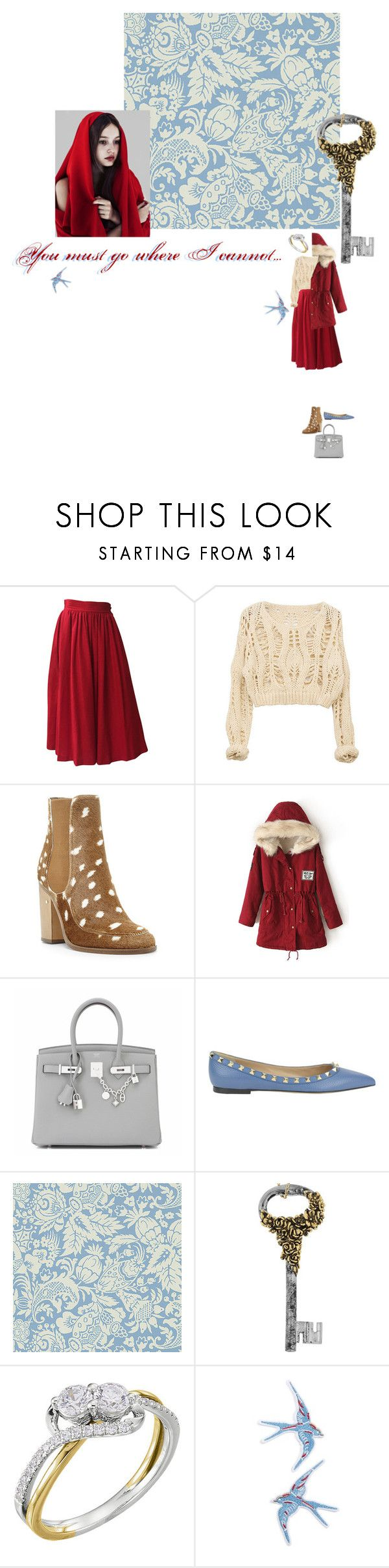 """""""Сон о пути домой, да не со мной..."""" by anya-moscow ❤ liked on Polyvore featuring Yves Saint Laurent, Laurence Dacade, Hermès, Valentino, Roberto Cavalli, Topshop, set, look and fashionset"""