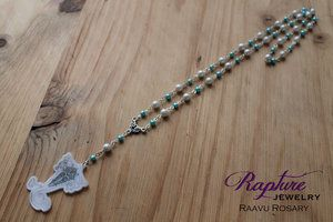 Raava Rosary Style Necklace Inspired by The Legend of Korra