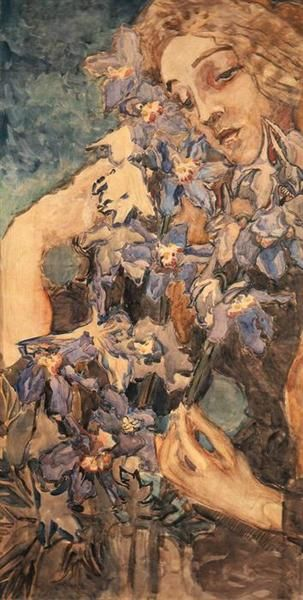 Primavera,+1894+-+Mikhail+Vrubel
