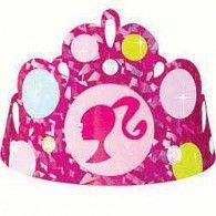 Tiara Barbie Prismatic Foil Pkt8 $8.95 A259379