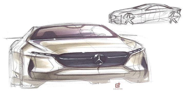 Mercedes Coupe on Behance