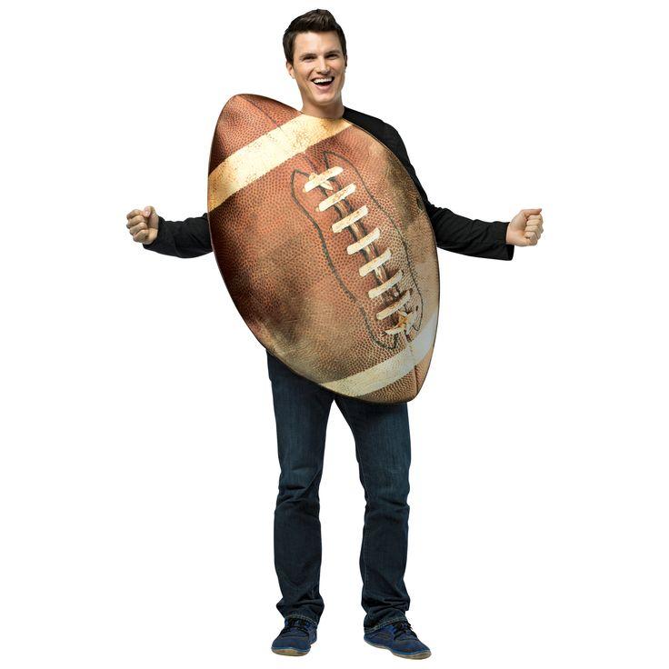 Men's Get Real Football Costume