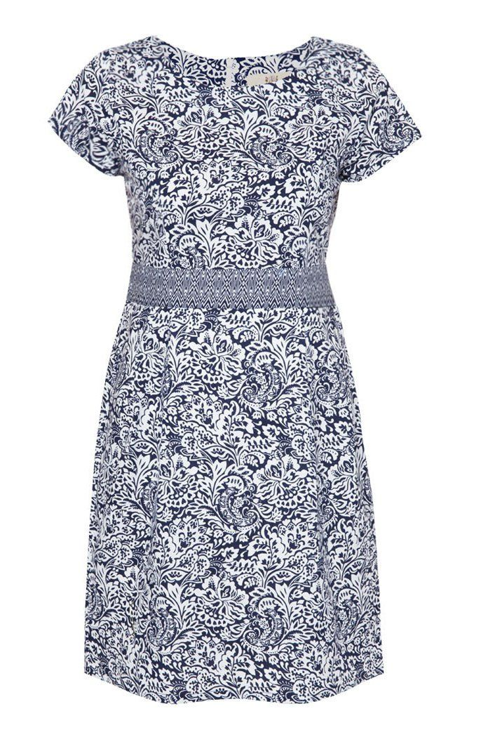 Kikan Batik Dress by BLF. This cute dress with batik pattern. Made from cotton, short sleeve, rounded neck, pattern full print all over the dress, regular fit. You can pair it with sandals for the casual look , or just wear a heels. http://zocko.it/LDcIb