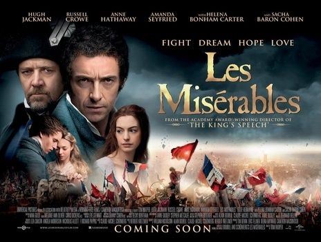 Not even Russell Crowe's well shameful singing can wreck this movie & it has the beautiful Eddie Redmayne as Marius.