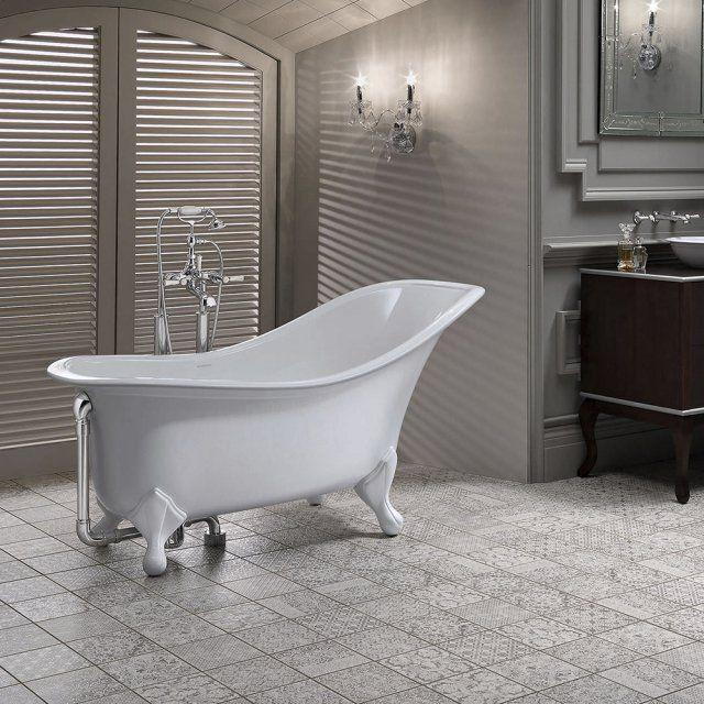 Les 25 meilleures id es concernant baignoire sur pied sur for Baignoire sabot sur pied
