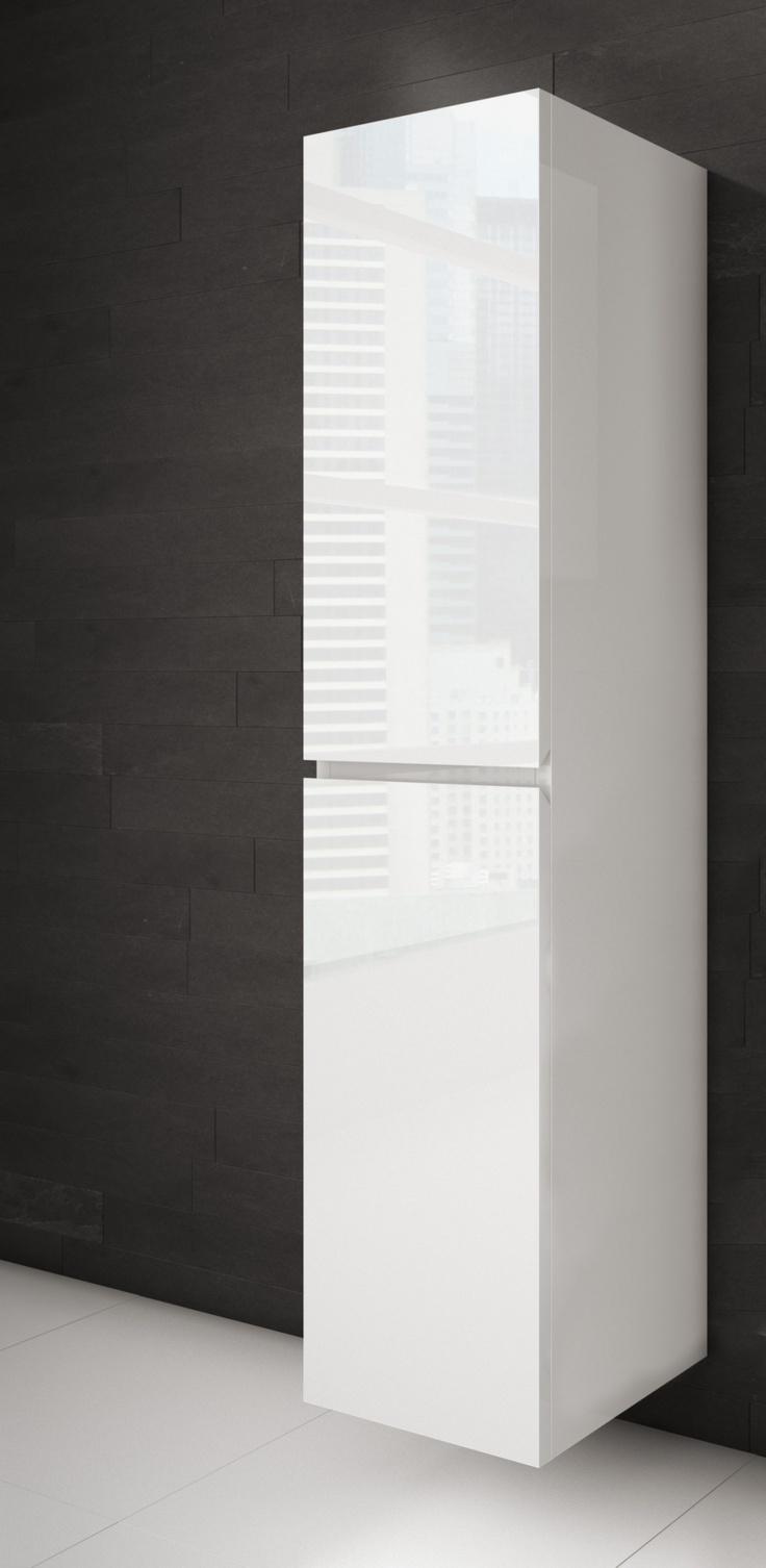 Lingerie salle de bain blanche - AQUA MOBILIA. Disponible chez Montréal - Les - Bains