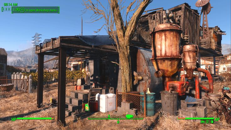 Sanctuary Generator Shack Clinic and Marcy's house #Fallout4 #gaming #Fallout #Bethesda #games #PS4share #PS4 #FO4