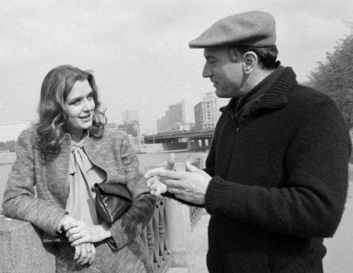 И. Алфёрова и Роберт Де Ниро 1983г