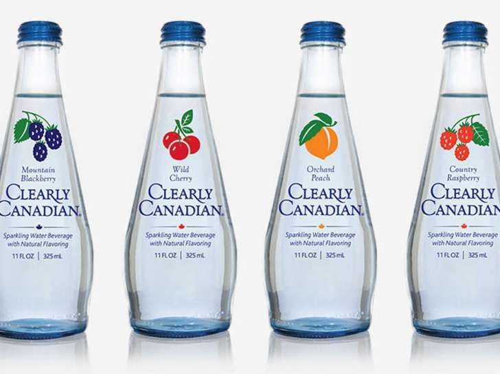 Clearly Canadian! Sweet Sparkling Water.. from laudable.com