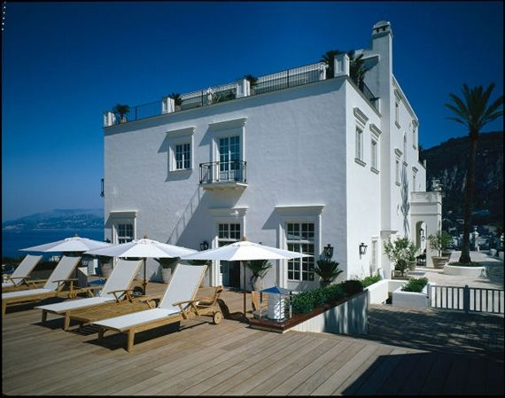The J.K Place Capri known as the most beautiful hotel in the world.