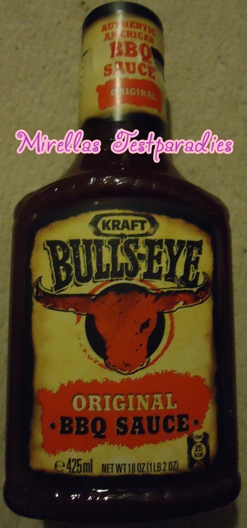 I tested the Bulls-Eye BBQ Sauce from Kraft – Wahres Räucheraroma.