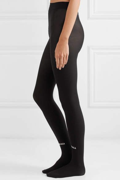 46a92061583f3 Balenciaga Printed Tights - Black #Printed#Balenciaga#Black ...