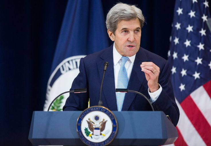 Secretary of State John Kerry argued that Israel couldn't survive as both a Jewish state and a democratic state unless it embraced a two-state plan.