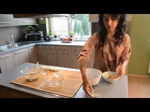 Light Paleo Zsemle recept (Alacsony kalória és szénhidrát értékű gluténmentes zsemle) - YouTube