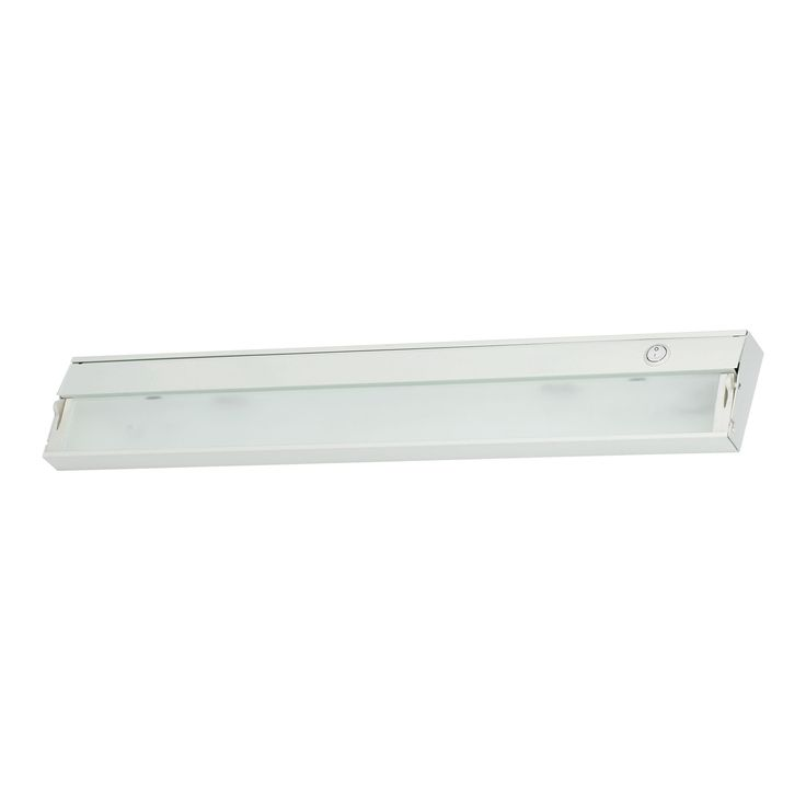 ZeeLine 3 Lamp Xenon Cabinet Light In White With Diffused Glass