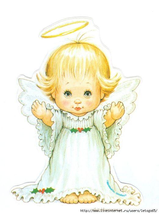 Картинки с крещением ангелы