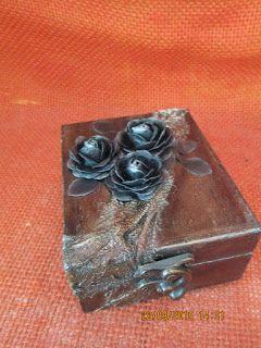 Dan@rt Handmade: Blak rose