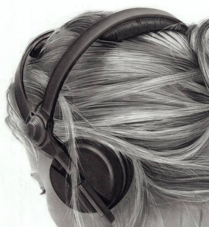 Neuveriteľne realistické kresby vlasov a iné zázraky