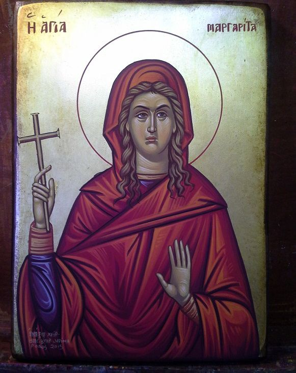 Η Αγία Μαργαρίτα,  St. Margarita