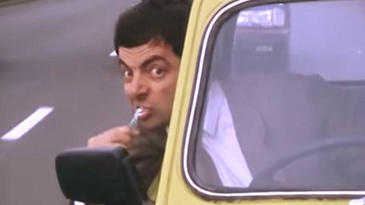 Em uma de suas aventuras, Mr. Bean está atrasado para uma consulta, então ele tem a 'brilhante' ideia de se trocar dentro do carro...