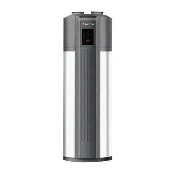 Regina 3.5Bomba de calor para Produção e acumulação de água quente sanitária, com uma potência de 3 kW.Ideal para Produção e acumulação isolada de água quente sanitária, Apoio em série a...