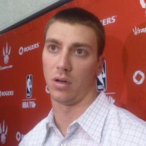 Toronto Raptors Tyler Hansbrough