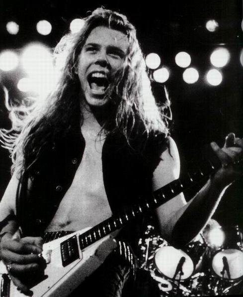 Mr. James Hetfield.     Young version. :)