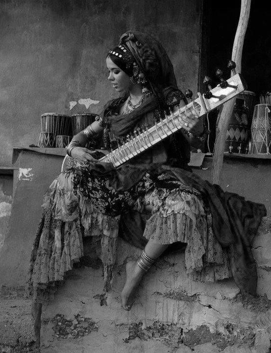 As awkward as a sitar looks, there is somehow an amazing beauty it brings out in whoever holds its music in their arms...