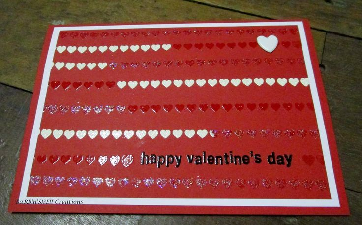 BaRb'n'ShEllcreations - Valentine's Day Cards - made by Shell