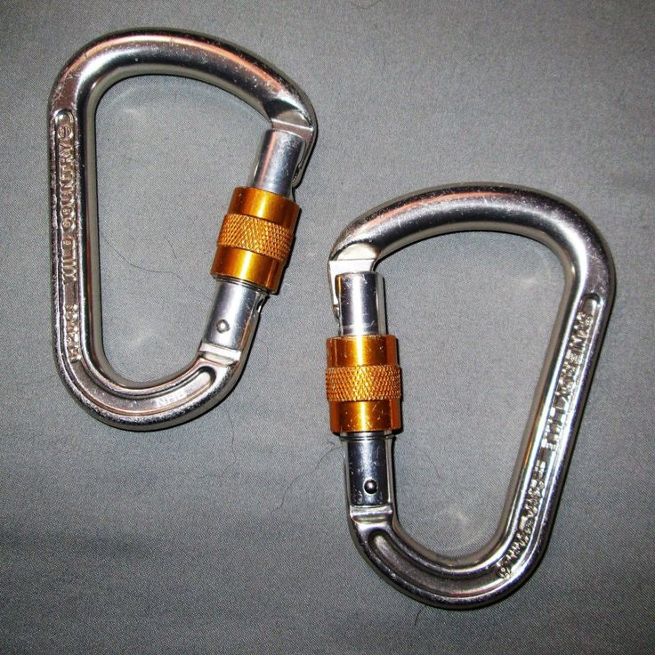 2 Wild Country Locking Carabiners climbing lead sport trad anchor carabiner