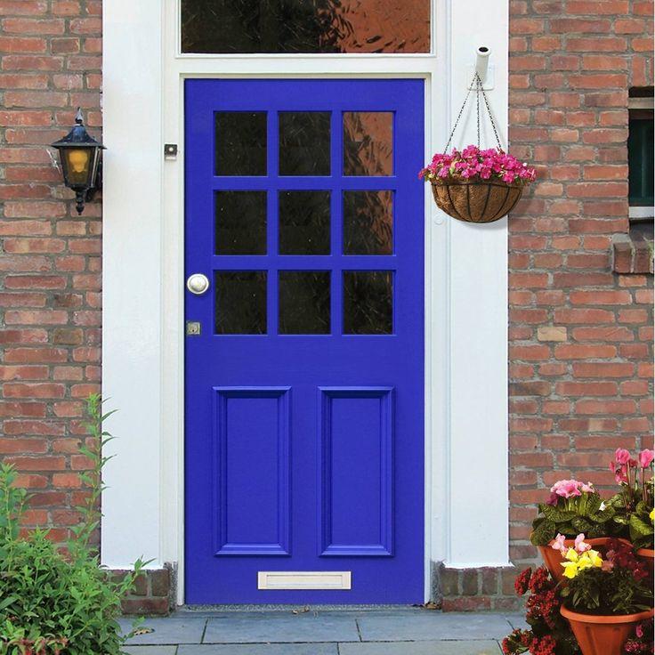 Made to size exterior timber door, Victorian style Pasteur door, made to measure, top quality manufacture, moulded panels. #victoriandoor #traditionalenglishdoor #solidfrontdoor