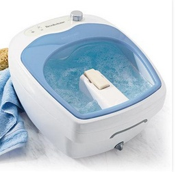 If your mom is constantly complaining about sore feet, the Aqua-Jet Foot Spa is the gift she needs. The soothing jets will massage her feet (so you don't have to), and the heated water will keep her tootsies warm and toasty. See our 7 Gifts That Glam Up Mom on: http://blog.gifts.com/gift-guides/7-gifts-that-glam-up-mom