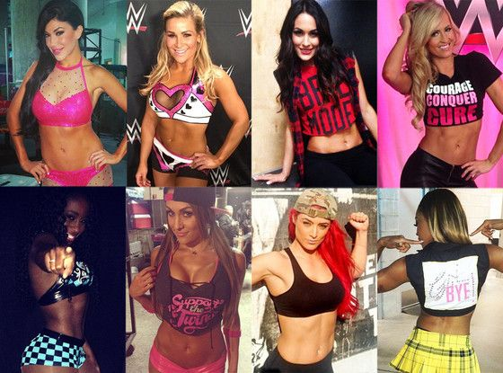 Which One of the Total Divas Deserves the WWE Divas Championship??Vote for Your Favorite!