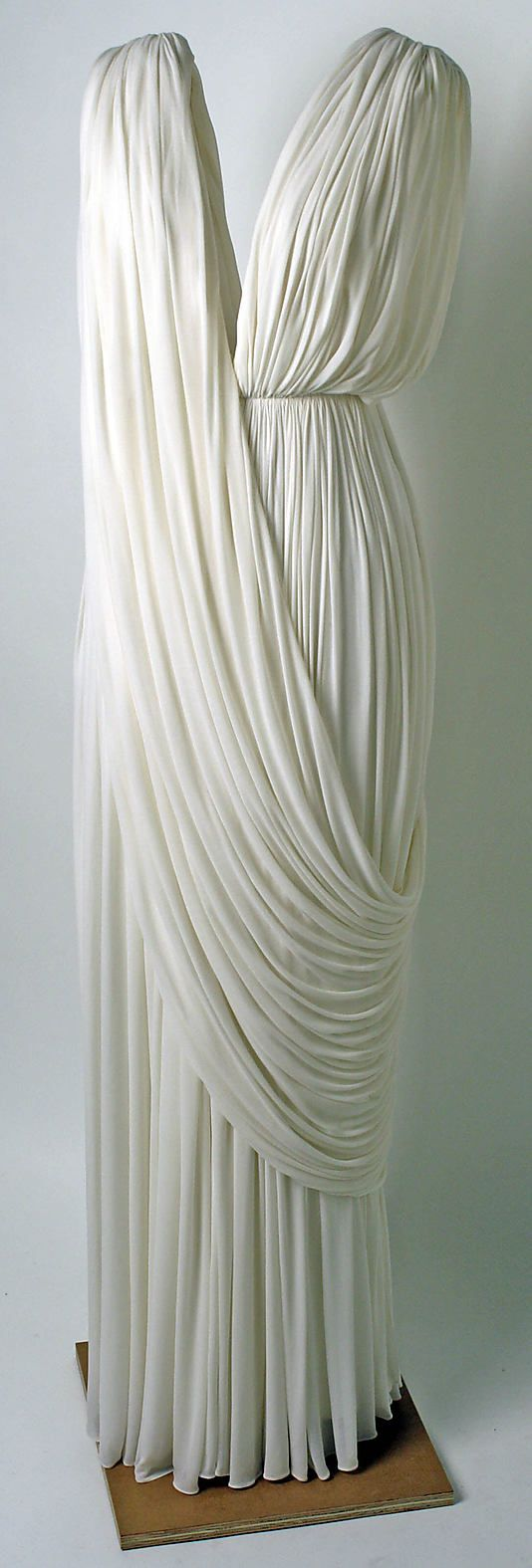 """Madame Grès  ca. 1965"" Saving for ideas. I love this style because it reminds me of ancient Grecian goddesses."