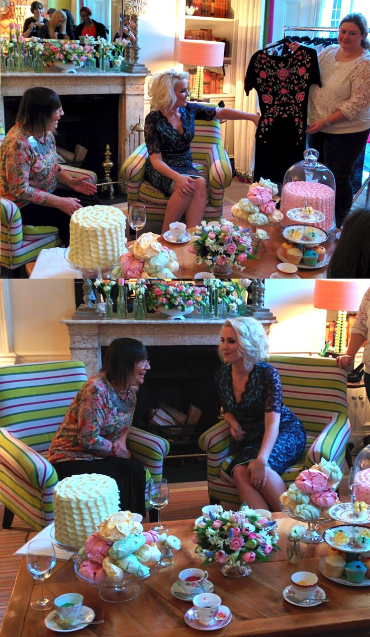 The gorgeous #ClaireRichards Spring/Summer launch tea party>> http://www.fashionworld.co.uk/blog/claire-richards-ss14-press/