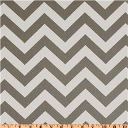 Premier Prints Cotton Twill Zig Zag Storm Grey - Home Decor Fabric. $12.50, via Etsy.