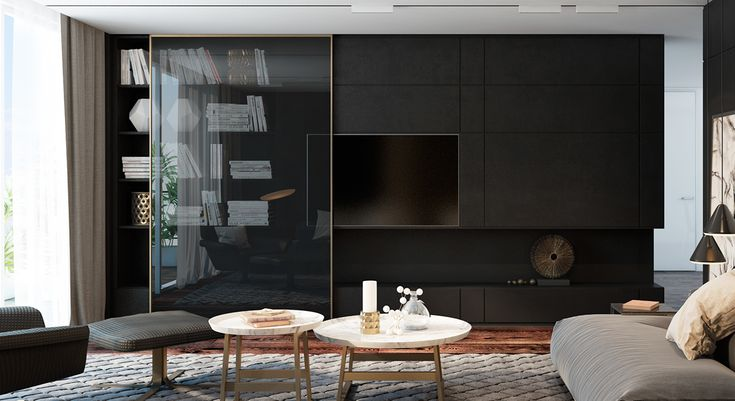 Dubai apartment on Behance