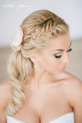 Peachy 1000 Ideas About Bridesmaid Side Ponytails On Pinterest Side Short Hairstyles Gunalazisus
