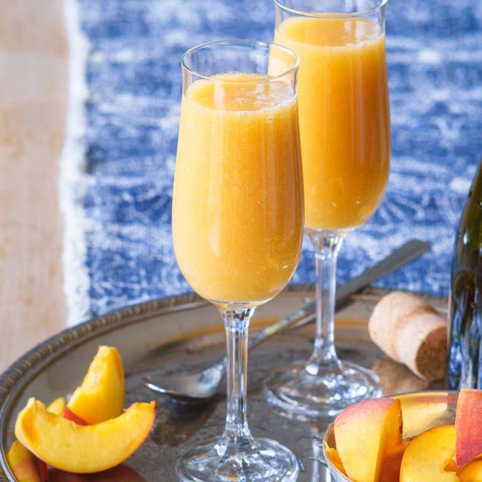 Bellini - champagne och persika