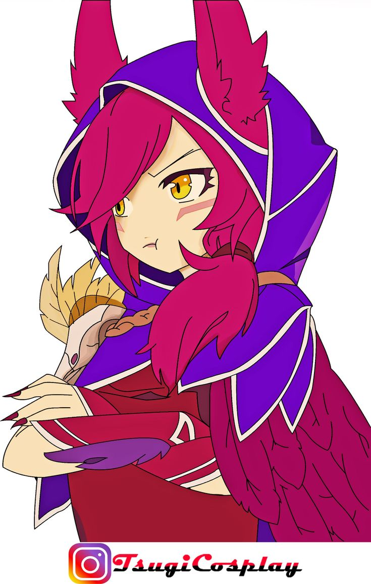 Xayah pintura by EduTsugi on DeviantArt in 2020 Xayah