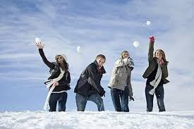 Afbeeldingsresultaat voor sneeuwballengevecht