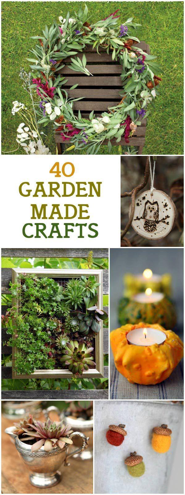 4344 best Garden crafts DIY images on Pinterest | Garden ideas ...
