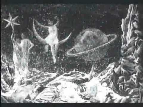 A Trip to the Moon /  Le Voyage dans la lune - 1902 film that paved the way for many others.  Fun fact the Smashing Pumpkins video for the song Tonight is based off this film.