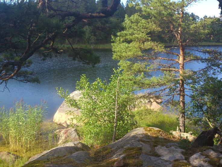 Gällnö island in the Stockholm archipelago 2012.