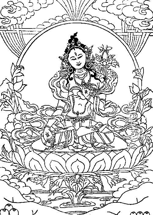 White Tara and English Version of Sadhana