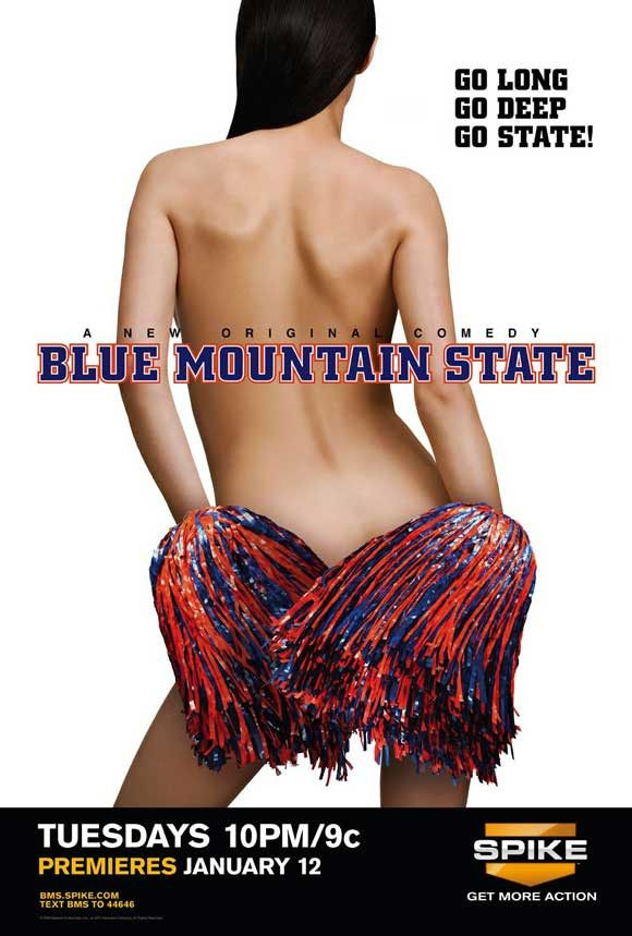 Blue Mountain State...one of the funniest shows ever!! LOVE!!
