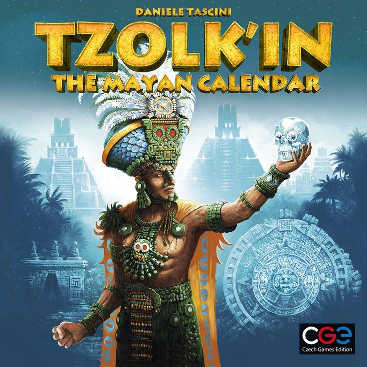 Tzolk'in: The Mayan Calendar. Ce jeu me semble être d'une intelligence hors du commun!