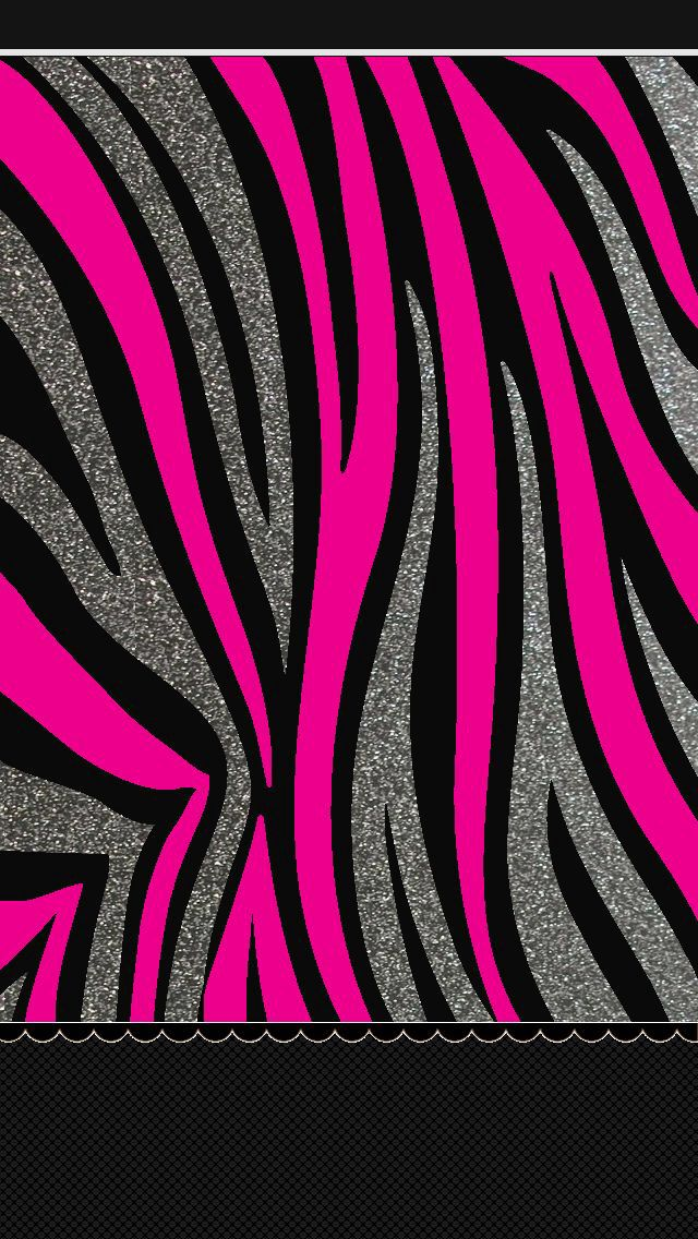 25 best ideas about pink sparkle background on pinterest - Pink zebra wallpaper for iphone ...